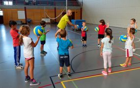 Kidsvolley Training (August 2015)